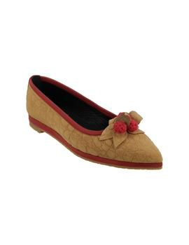 Zapato mujer Wording beige