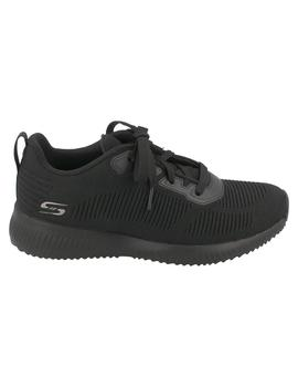 Deportivo mujer Skechers Squad Tough negro