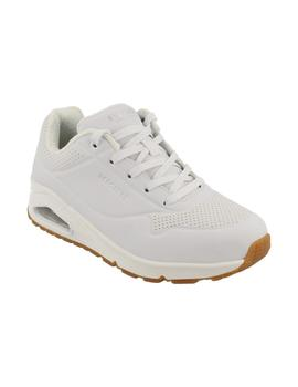 Deportivo mujer Skechers Uno-Stand On Air blanco