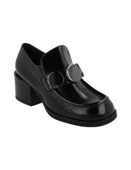 Mocasín mujer Jeannot negro